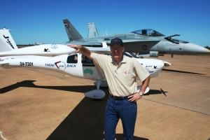 Jabiru and RAAF FA-18