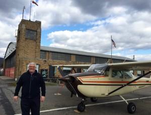 Carl Valeri at Wyoming Valley Airport, PA