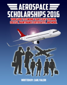 Aerospace Scholarships 2016 Cover
